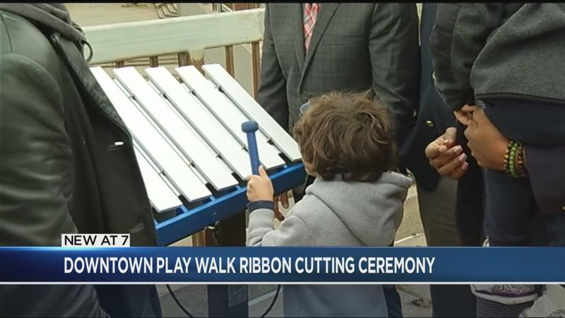 New play walk opens downtown