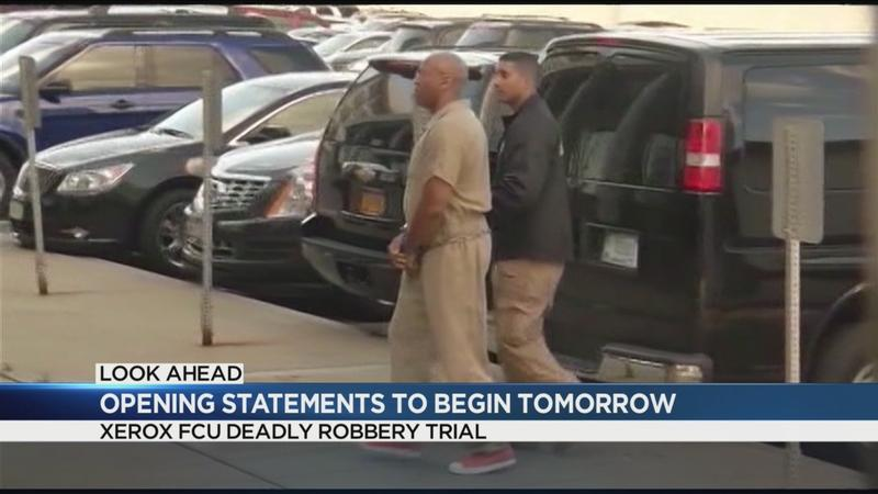 Opening statements in Xerox FCU robbery/shooting trial set for Thursday