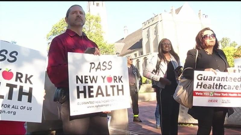 Rally held for New York Health Act