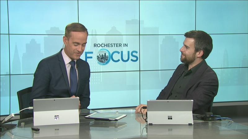 Rochester in Focus: Ward Stare