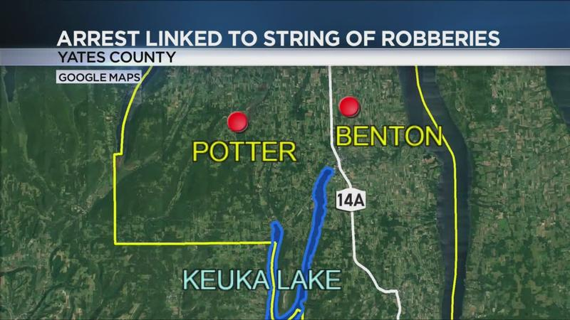 Rochester man arrested for string of Yates County burglaries