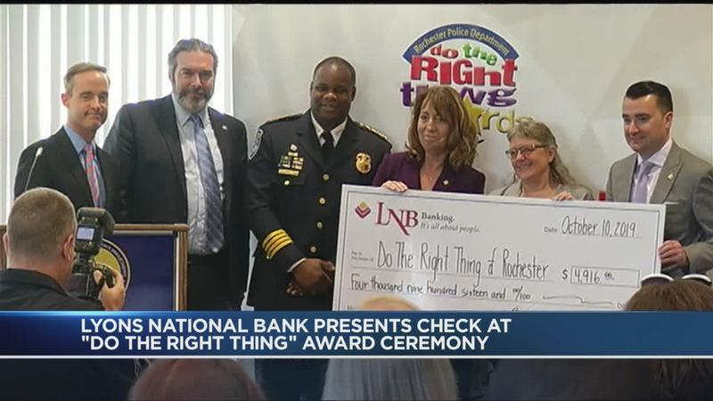 """Do the Right Thing"" winners recognized at ceremony"