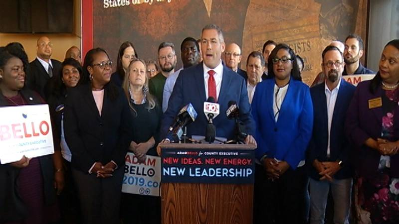 Adam Bello secures endorsement from Rochester Mayor Lovely Warren