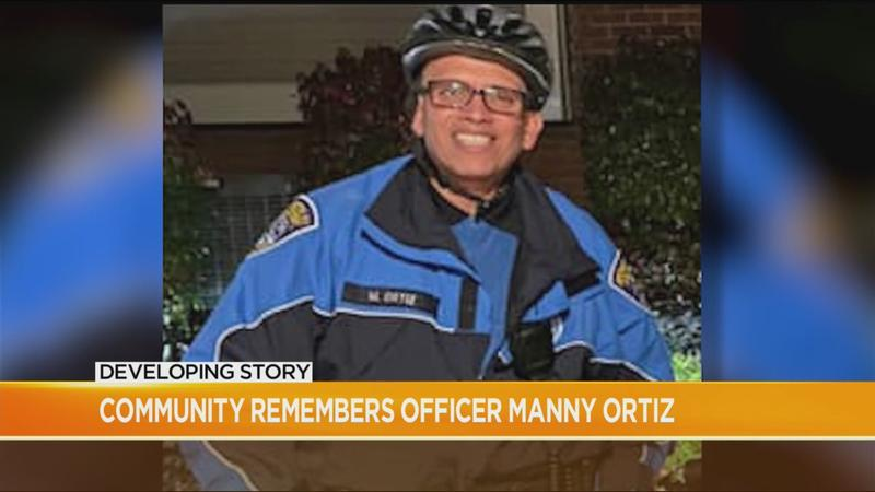 Community remembers fallen police officer: 'Manny made everybody feel like a family member'