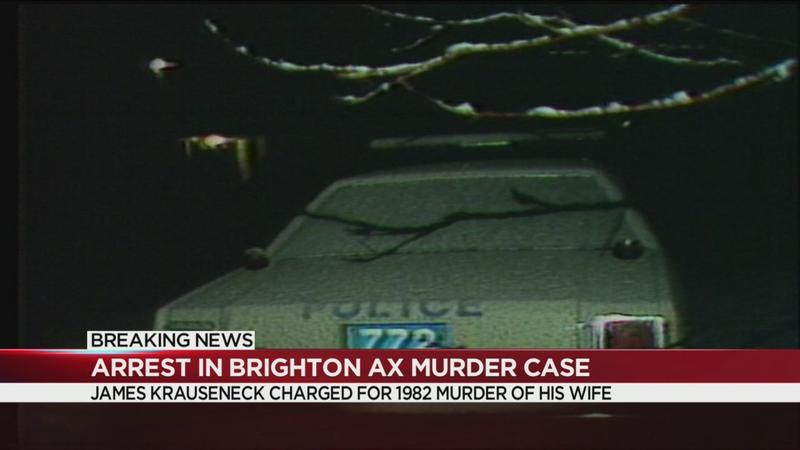 Husband charged in 1982 Brighton ax murder