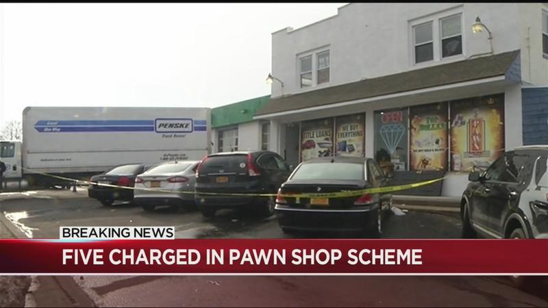 Prosecutors: 5 charged in Rochester-area pawn shop scheme