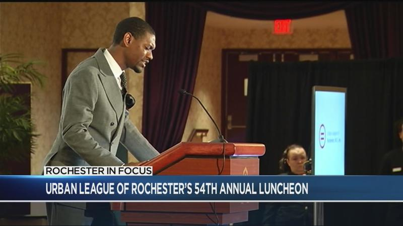 RIF: Urban League of Rochester's annual luncheon