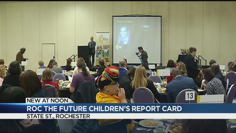 "Roc the Future releases its ""State of Our Children"" report card"