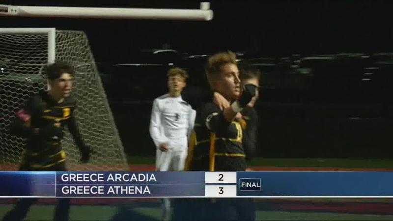 Sectional soccer highlights