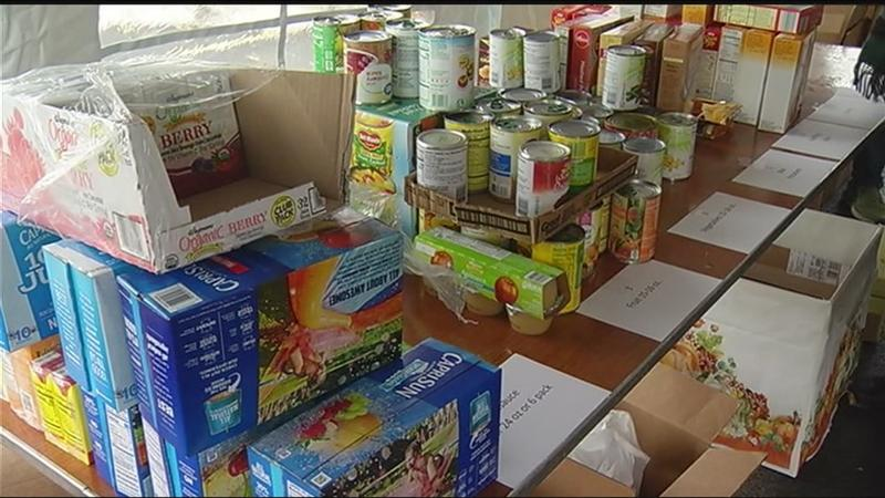 Small Business Spotlight: Small Business Council of Rochester collects Thanksgiving food boxes