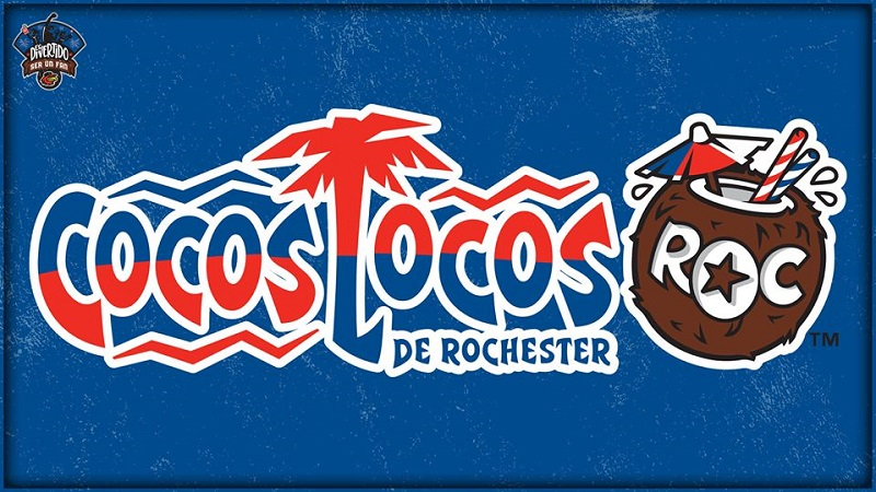 Rochester Red Wings will play as Cocos Locos de Rochester for three games
