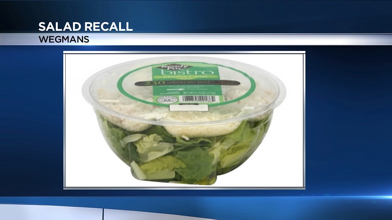 E. coli outbreak prompts recall of salad sold at Wegmans, Target, other stores