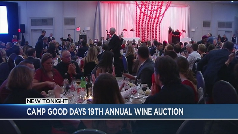 Camp Good Days holds 19th annual Wine Auction Dinner