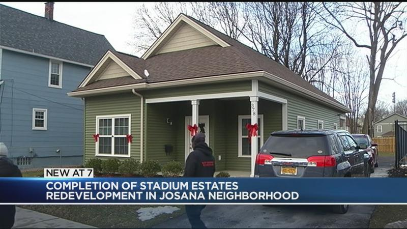 Construction of Stadium Estates Phase II development completed