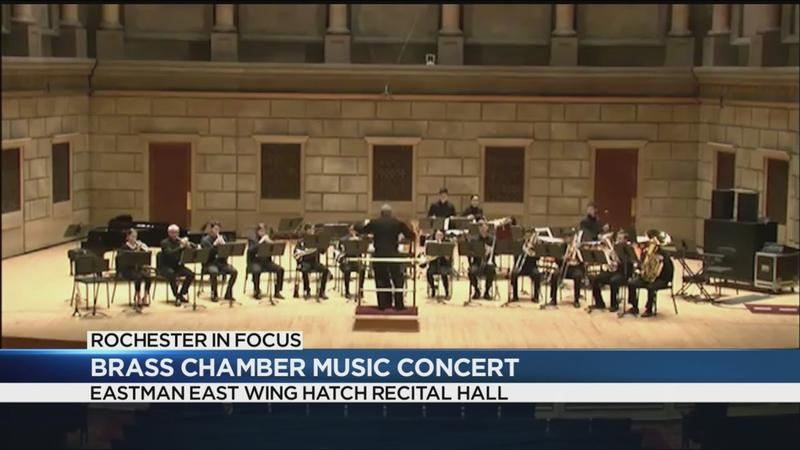Rochester in Focus: Brass Chamber Music concert at Eastman