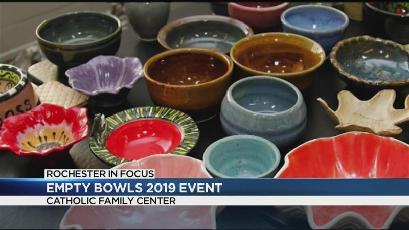 Rochester in Focus: Empty Bowls 2019 fundraiser