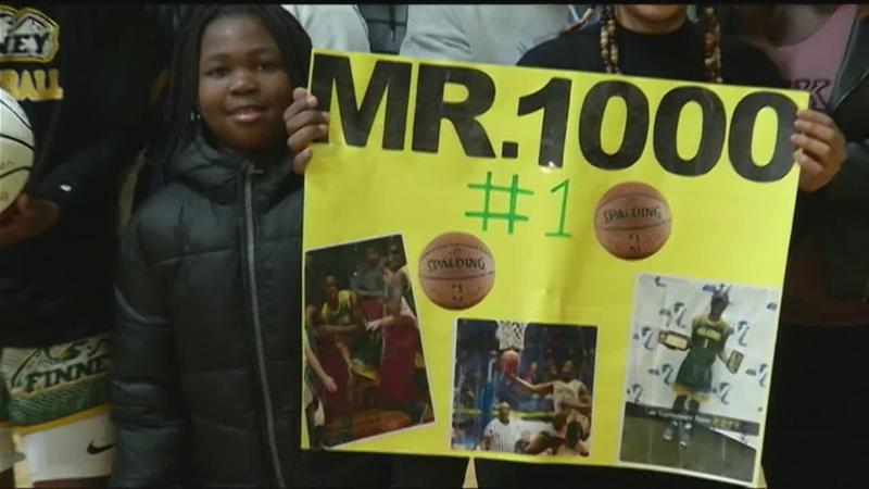Finney takes on Rochester Prep as Robinson honored for 1,000 points