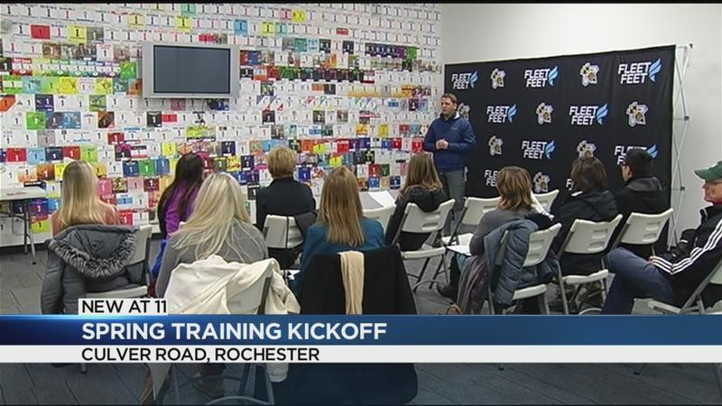 Fleet Feet holds spring training info session