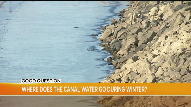 Good Question: Where does the canal water go during winter?