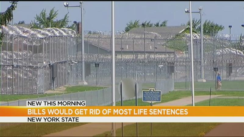 Lawmakers debate getting rid of most life sentences in New York