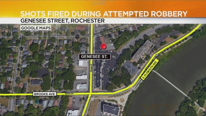Police: Shots fired during attempted armed robbery
