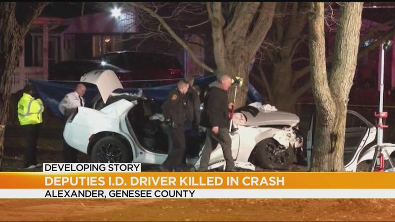 Police chase ends in fatal crash in Genesee County