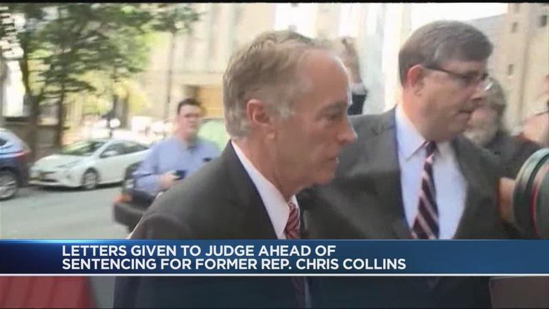 Many write letters of support, opposition to Chris Collins as he near sentencing