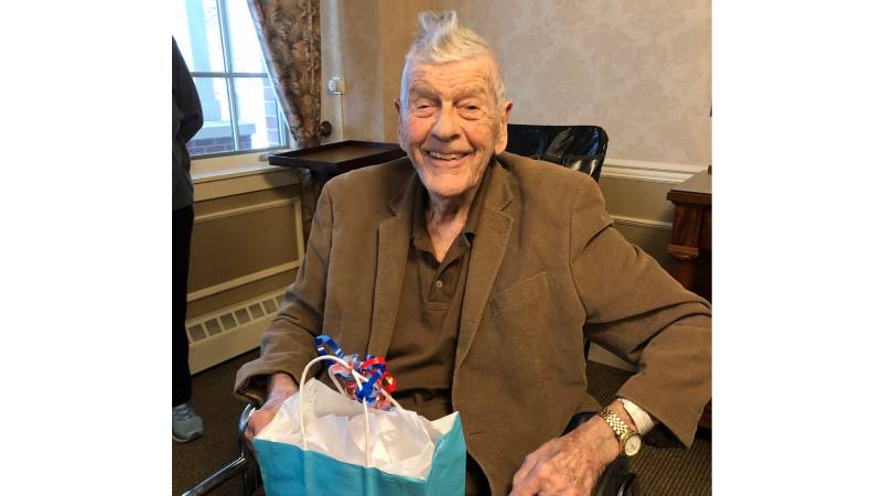 Former Pittsford Town Supervisor turns 100-years-old