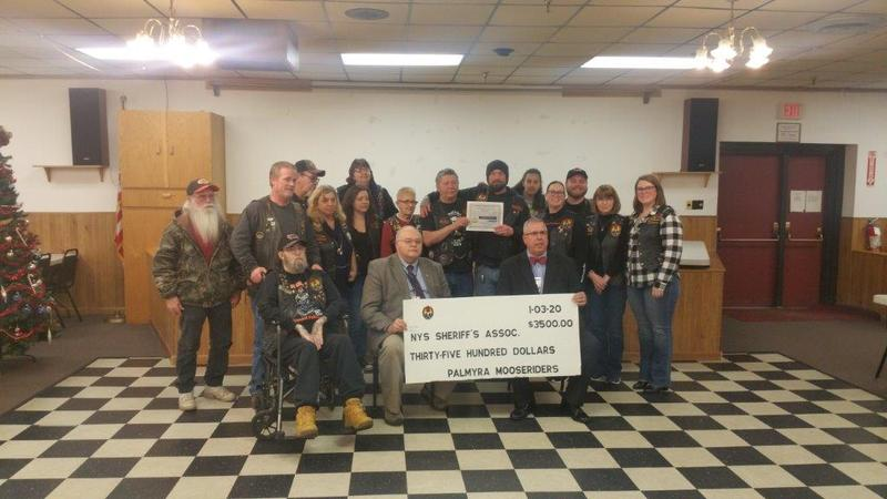 $3,500 donation for Wayne and Yates County Sheriff's kids' camps