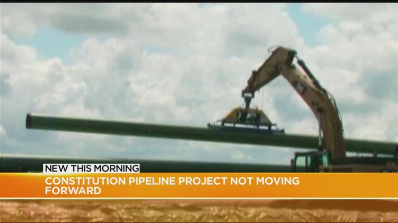 Controversial 'Constitution Pipeline Project' will not be moving forward