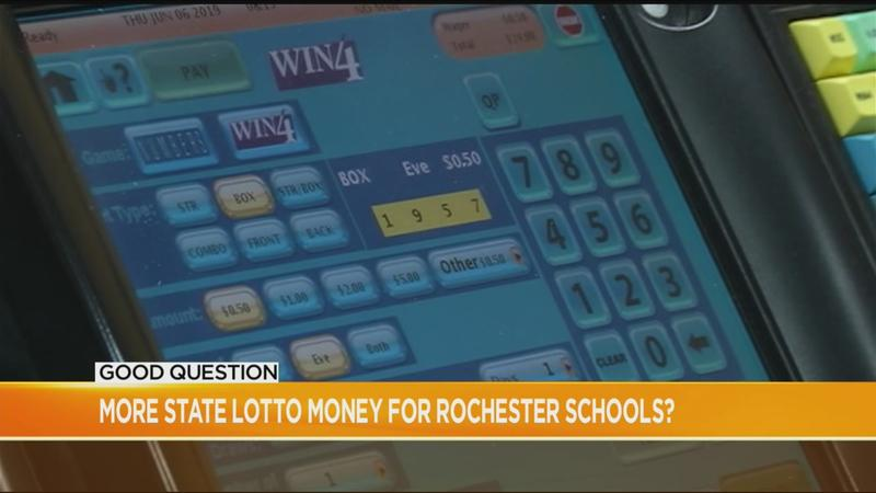 Good Question: More New York Lottery money for Rochester schools?