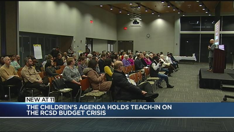 Local organization offers 'teach-in' on RCSD budget