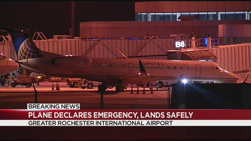 Rochester-bound plane lands safely after mechanical issue