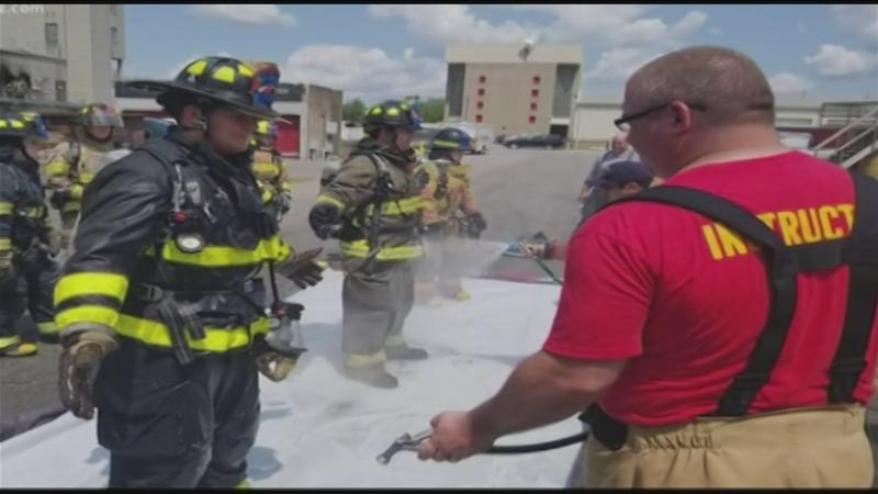 Study shows cancer rate increase among firefighters