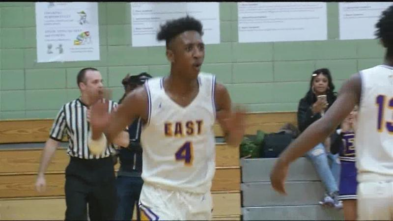 Victor remains undefeated in boys basketball; East rolls against Early College