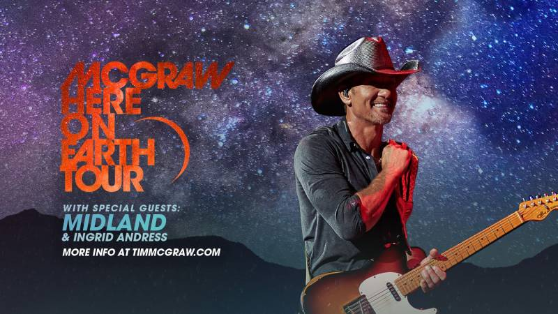 Tim McGraw coming to CMAC this summer