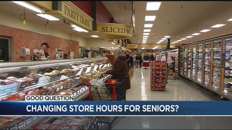 Good Question: Which stores have hours for seniors to get what they need?
