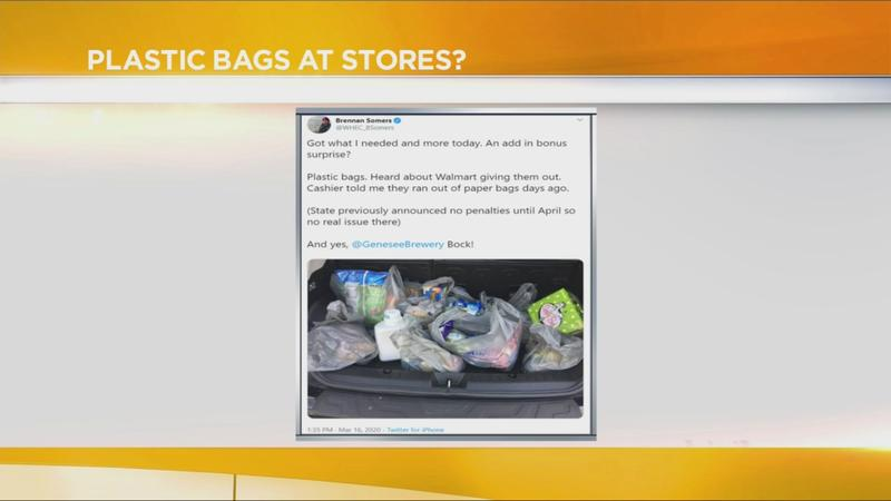 Good Question: Why are some shoppers receiving plastic bags at Walmart?