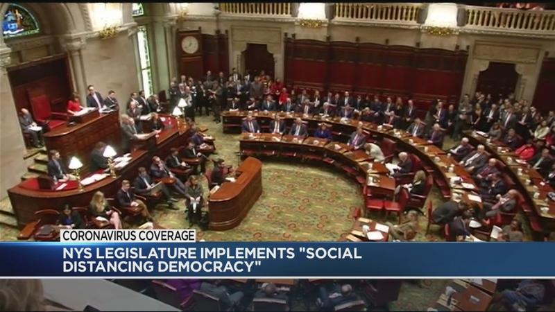 State lawmakers begin remote voting ahead of budget deadline