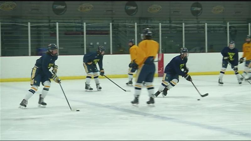 Victor hockey ready for state tournament