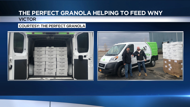 Small Business Spotlight Update: The Perfect Granola helps keep kids fed during COVID-19 outbreak