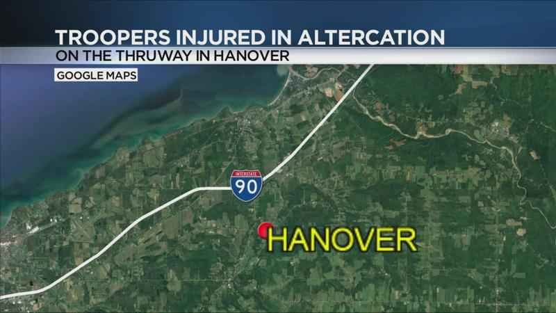 2 troopers injured, bomb found after traffic stop in Hanover