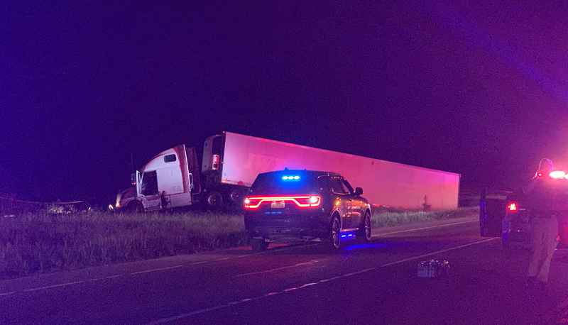 Tractor-trailer pursuit ends in gunfire, Sheriff says driver had no regard for human life