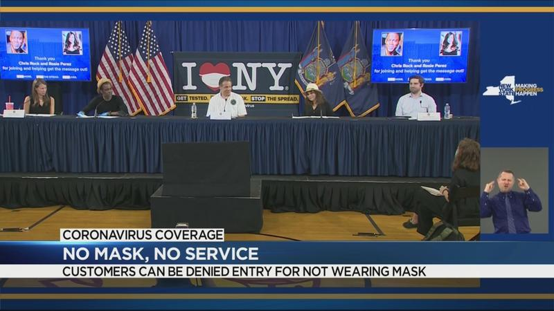 Cuomo signs executive order authorizing businesses to refuse customers not wearing masks