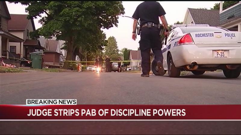 Judge rules Rochester Police Accountability Board cannot discipline officers