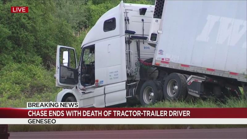 Sheriff identifies tractor-trailer driver fatally shot in Geneseo after tense chase