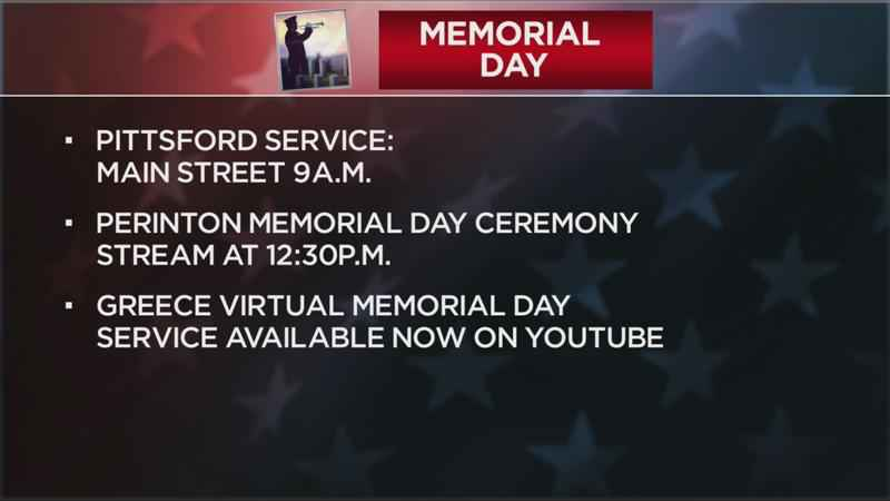 Local Memorial Day celebrations scheduled for Monday