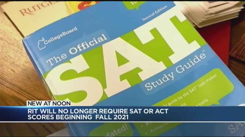 RIT no longer requiring SAT, ACT scores starting in 2021