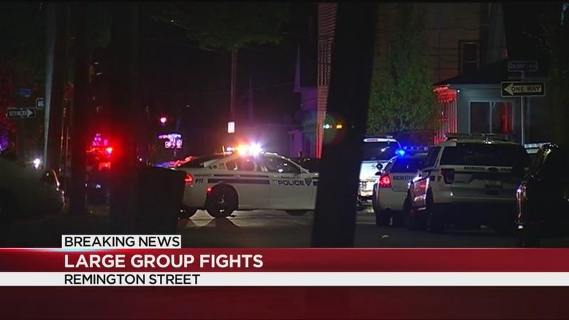 RPD: Fights break out when nearly 300 people gathered in the streets for a party
