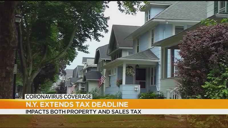 Deadline for property, sales taxes extended to June